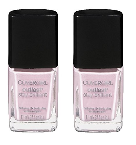 Covergirl-Outlast-Stay-Brilliant-Nail-Gloss-140-Pink-Finity-140-037-Ounce-Pack-of-2