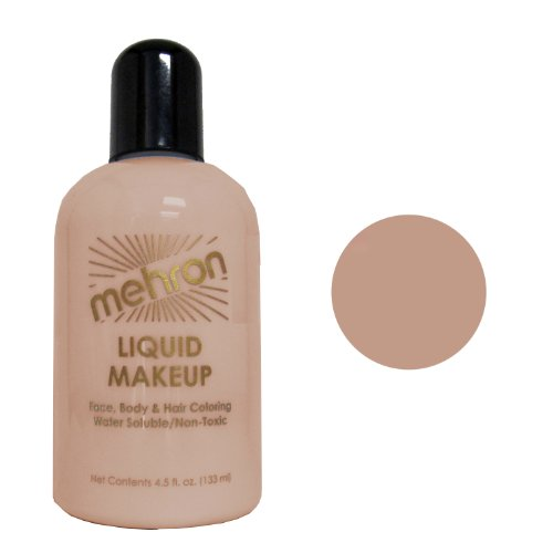 Mehron Dark Olive Liquid Makeup 4.5oz