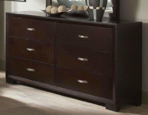 Homelegance Astrid Dresser In Espresso Finish front-653809