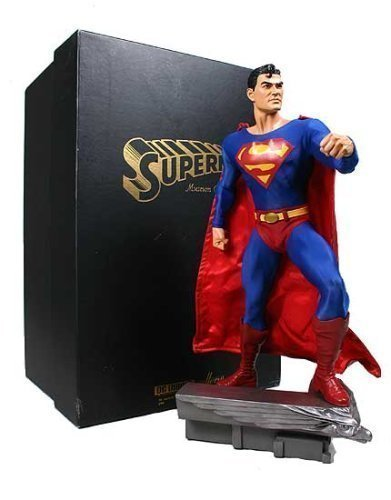 Picture of DC Direct Classic Superman Museum 18-Inch Statue Figure (B000GQ2AA6) (Superman Action Figures)