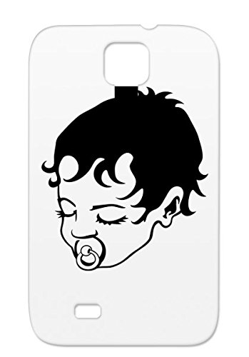 Pacifier Hair Dummy Baby Family Kid Sucking Baby Toddler Sleeping Child Shatterproof For Sumsang Galaxy S4 Black Sleeping With And Hair Case front-353207