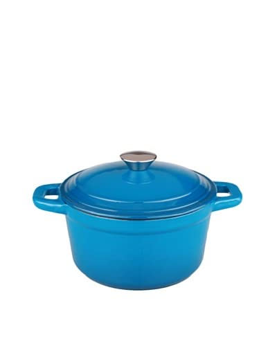 BergHOFF Neo 3Qt Cast Iron Covered Dutch Oven, Blue