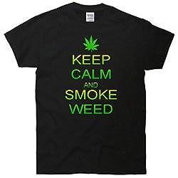 Keep Calm And Smoke Weed T-Shirt
