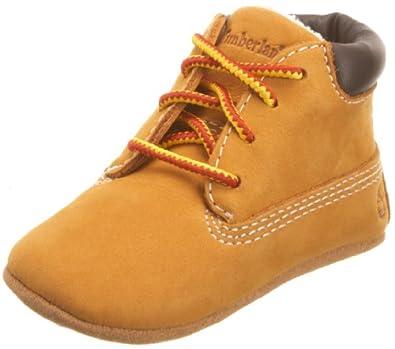 Timberland Infant Crib Wheat Nubuck Baby Shoe 10413 0.5 Child Uk