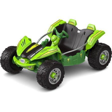Fisher-Price Power Wheels Dune Racer Extreme 12-Volt Battery-Powered Ride-On / Extra-wide tires and low-profile design (Power Wheel For 5 Year Old compare prices)