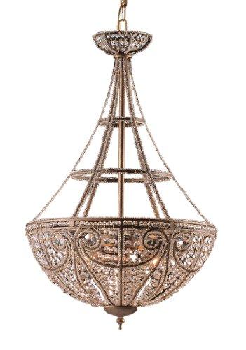 Artistic LightingElizabethan 4-Light Pendant Ceiling Fixture, Dark Bronze