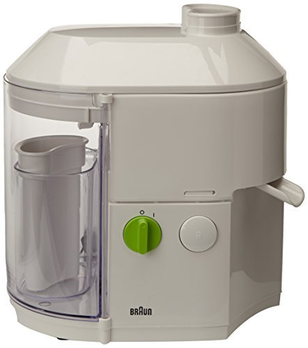 BRAUN SJ3000WH Juice Extractor 220V (Not for use in the USA) (Braun Juicer Usa compare prices)