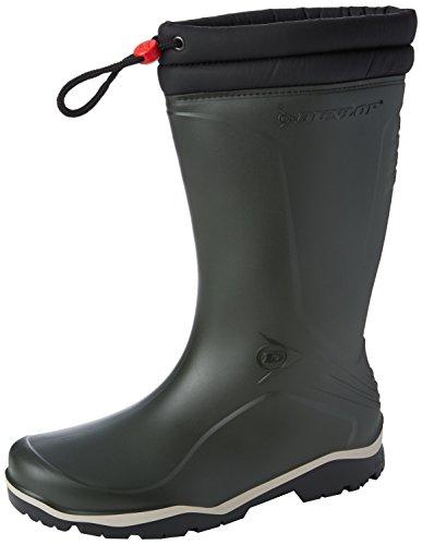 Dunlop-K486061-GEVLRSBLIZZ-GROEN-43-Unisex-Erwachsene-Halbschaft-Gummistiefel-Grn-GrnGroen-08-43-EU