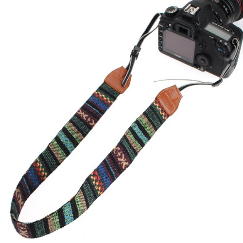 Vintage Soft Multi-Color Universal Camcorder Camera Shoulder