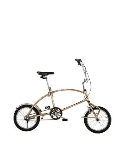 Bigfish Folding Bike Bicicleta Pegable Oro Única