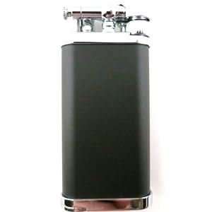 IM Corona Old Boy Black/Chrome Pipe Lighter