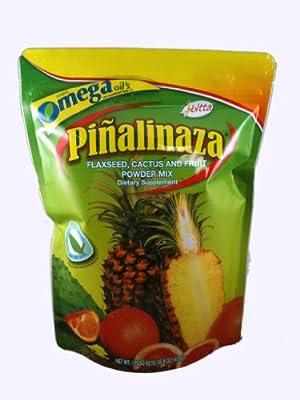 Piñalinaza® Ibitta® Flaxseed, Cactus & Fruit Powder Weight Loss Formula 16.5oz
