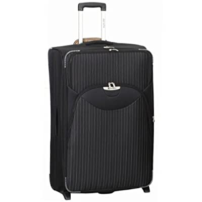 Large 28'' Super Lightweight Expandable Suitcase (Black)