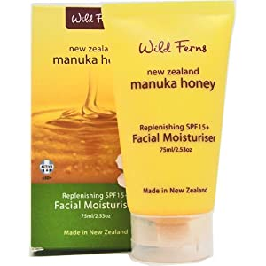 Manuka Honey Wild Ferns Facial Moisturizer SPF15+