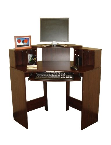 Buy Low Price Comfortable Sourcing Solutions Corner Computer Desk with Storage (B002KQ5K98)