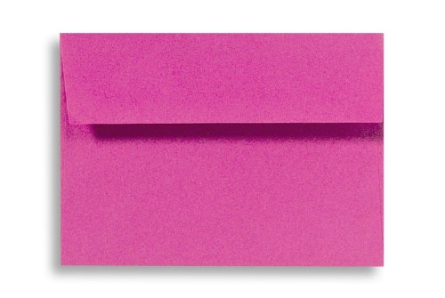 A6 Invitation Envelopes (4 3/4 x 6 1/2) - Magenta (50 Qty.)