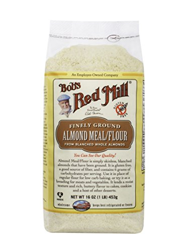 Bob's Red Mill Almond Meal/Flour, 16-oz. Countages (Count of 4)