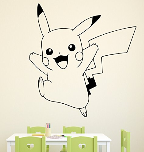 Pared-Adhesivo-Pokemon-Pikachu