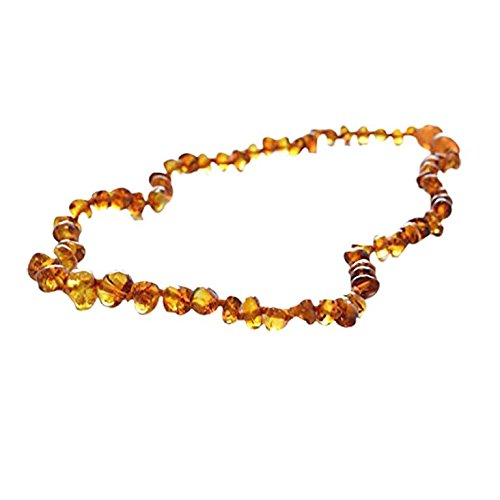 Baltic-Amber-Teething-Necklace-for-Babies-Unisex-Honey-Anti-Flammatory-Drooling-Teething-Pain-Reduce-Properties-Natural-Certificated-Oval-Baltic-Jewelry-with-the-Highest-Quality-Guaranteed-Easy-to-Fas