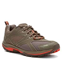 The North Face Hedgehog Guide Brown/Orange Mens Hiking Shoes