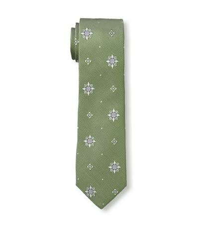 Gitman Men's Multi Print Tie, Green