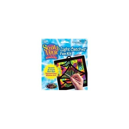 Scratch Magic Light Catcher Sailboat - 1