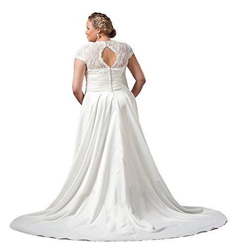 Fashion Bug Women Plus Size Wedding Dress Plus Size Wedding Dress By Sydneys Closet SC5036