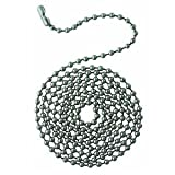 Westinghouse Lighting Corp 77049 3-Feet Bead Chain, Stainless Steel