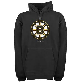 NHL Boston Bruins Primary Logo Hoodie, Black, Medium