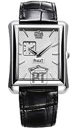 Piaget Emperador Mens White Gold Automatic Power Reserve Watch GOA33069