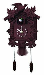 hall Old World Cuckoo Clock, Brown by Jobar International, Inc.