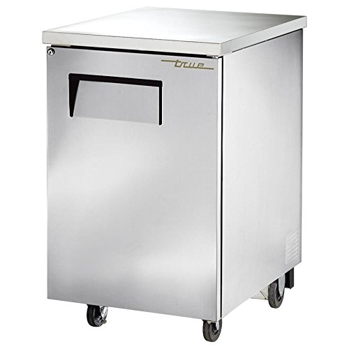 "True Tbb-1-S Back Bar Cooler 24"" 1 Section 1 Solid Door"