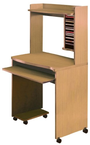 Buy Low Price Comfortable MFI / Nexera 5103 – Office Others Mobile Computer Cart (Natural Maple) (B0050JCQGW)