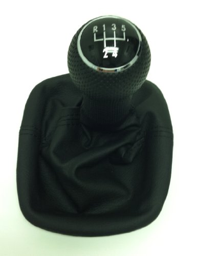 VW GOLF JETTA SHIFT KNOB WITH BOOT MK4 1999-2005 (Shifter Knob With Boot compare prices)