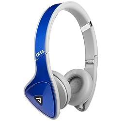 Monster DNA On-Ear Headphones (Cobalt Blue with Light Gray)