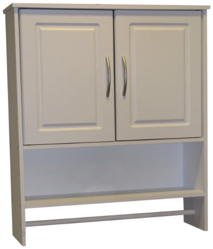 Cheapest Prices! 4D Concepts Bathroom 2 Door Wall Cabinet