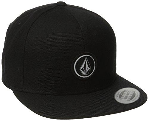 volcom-mens-quarter-twill-baseball-cap-black-one-size