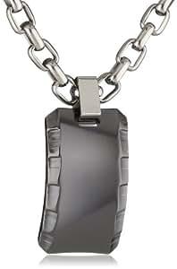 Edward Mirell Gray Titanium Templar Men's Necklace