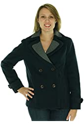 Tommy Hilfiger Women's Double Breasted Pea Coat