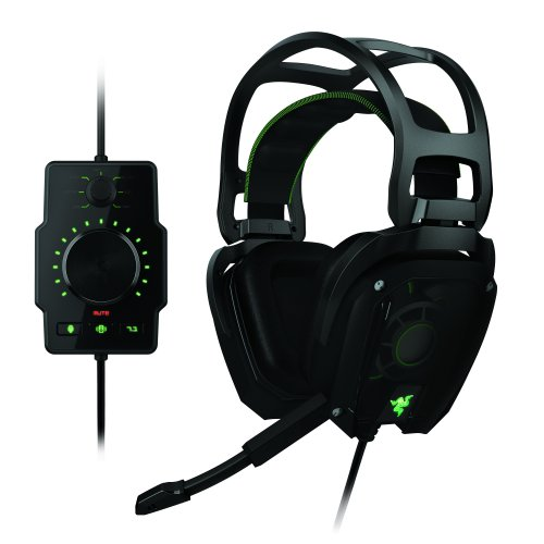 Razer Tiamat 7.1 Analog Connection Real 7.1 Surround Sound Gaming Headset