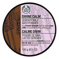 The Body Shop Divine Calm Serenity Milk Bath Powder, 6.3 Ounce