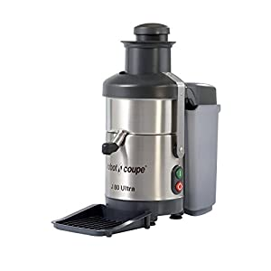 Robot Coupe J80 Ultra Automatic Juicer with Pulp Ejection - 120V, 3000 RPM from Robot Coupe