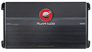 Planet Audio AP3000D 3000 Watts 1-OHM Stable Max Power Class D Monoblock Power Amplifier