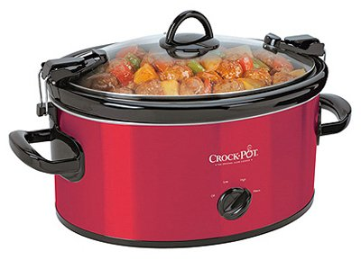 Crock-Pot SCCPVL600S Cook' N Carry 6-Quart Oval Manual Portable Slow Cooker, Stainless Steel by Crockpot