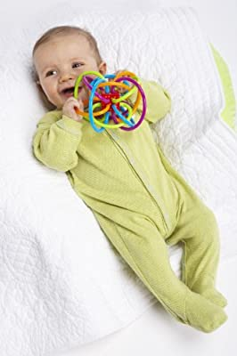 Manhattan Toy Winkel Rattle and Sensory Teether Activity Toy (Pack of 2) by Manhattan Toy