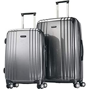 Amazon Com Samsonite Hardside Two Piece Spinner Luggage