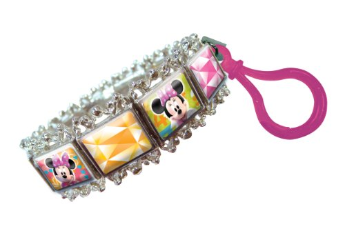 Disney Minnie Portrait Bracelet Key Ring - 1
