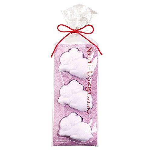 ノルコーポレーション バスフィズ スウィーツメゾンジャパン なみうさぎ 白藤色 東雲の香り 30g OBーSMWー6ー6