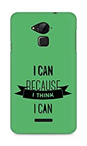 Amez I Can because I Think Back Cover For Coolpad Note 3