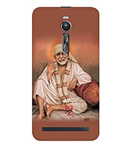 ifasho Shirdi Sai Baba Back Case Cover for Asus Zenfone 2